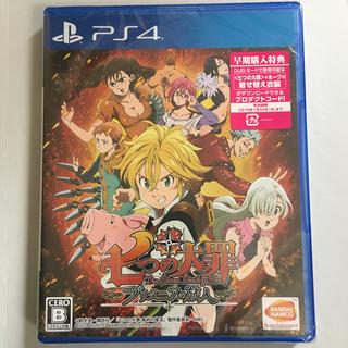 プレイステーション4(PlayStation4)のMiil様専用 七つの大罪 ブリタニアの旅PS4(家庭用ゲームソフト)