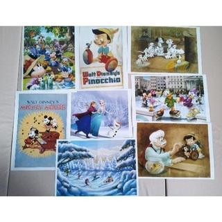 ディズニー(Disney)のディズニーキャラクター アートコレクション(8枚)(ポスター)