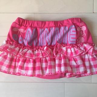 ディズニー(Disney)の90サイズ☆スカート パンツ付き(スカート)