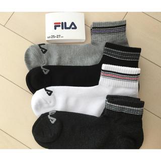 フィラ(FILA)の新品☆FILA ソックス 靴下 4足組(ソックス)