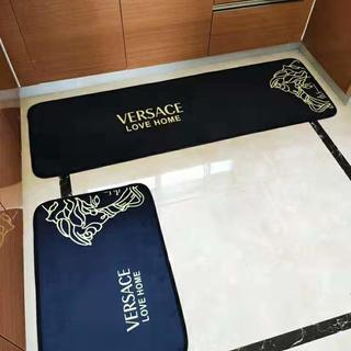 ヴェルサーチ(VERSACE)の洗える キッチンマット バスマット 玄関マット 2点セット(キッチンマット)
