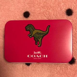 コーチ(COACH)のmomo様専用  コーチのカードケース(缶)、カードです♡(その他)