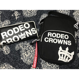 RODEO CROWNS - RODEO CROWNSショルダーバッグとウォレットセット!!新品