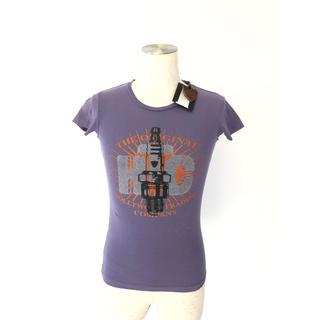 エイチティーシーブラック(HTC BLACK)の【新品】HTC Tシャツ パープル Tシャツ xxs(Tシャツ/カットソー(半袖/袖なし))