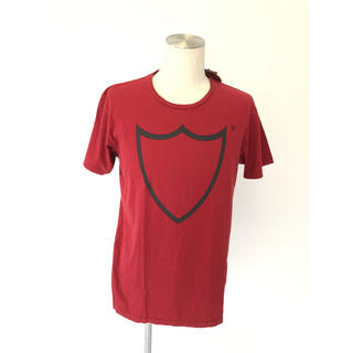 エイチティーシーブラック(HTC BLACK)の【新品】HTC タグ付き エンジ M Tシャツ ロゴ(Tシャツ/カットソー(半袖/袖なし))