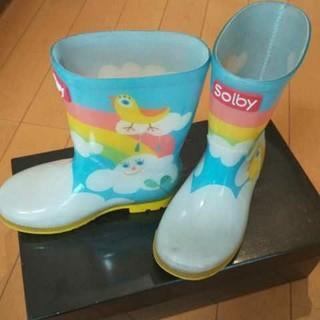 長靴 レインブーツ キッズ solby 16(長靴/レインシューズ)