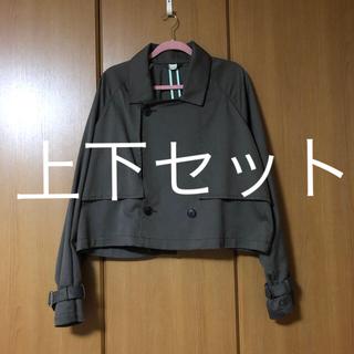 ジエダ(Jieda)のjieda 20ss ショートトレンチ セットアップ(セットアップ)