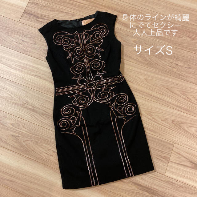 Andy(アンディ)の美品 ERUKEI  エルケイ 銀座 お水 ドレス ワンピース レディースのワンピース(ひざ丈ワンピース)の商品写真
