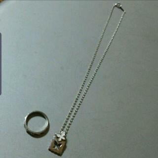 ジュエリーマキ(ジュエリーマキ)のジュエリーマキ購入プラチナシルバーネックレス&リング(リング(指輪))