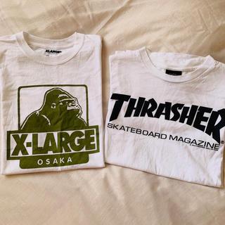エクストララージ(XLARGE)のXLARGE  THRASHER  Tシャツ(Tシャツ(半袖/袖なし))