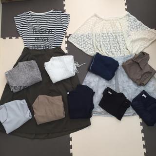 イッカ(ikka)の春服夏服レディースまとめ売り*50*(Tシャツ(半袖/袖なし))