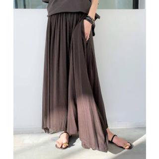 L'Appartement DEUXIEME CLASSE - アパルトモン Jersey Gather Skirt スカート 38