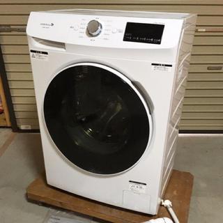美品 2018年製 ドラム式電気洗濯機 YWM-YV60F1 小型 スリム