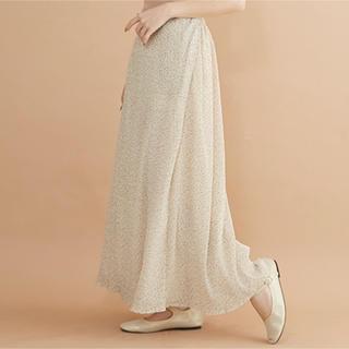 TODAYFUL - 新品タグ付き メルローmerlot 小花柄 ロングスカート