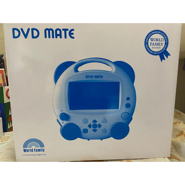 Disney(ディズニー)のDVDメイト ディズニーの英語システム DWE キッズ/ベビー/マタニティのおもちゃ(知育玩具)の商品写真