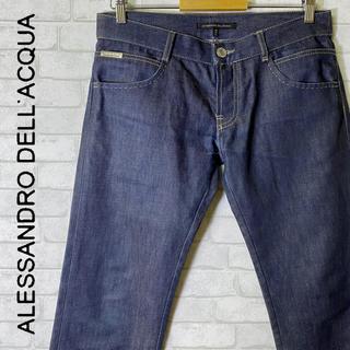 アレッサンドロデラクア(Alessandro Dell'Acqua)のアレッサンドロ デラクア デニムパンツ イタリア製/size 46(デニム/ジーンズ)