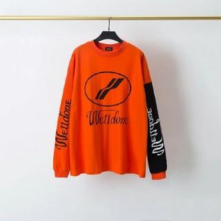 ピースマイナスワン(PEACEMINUSONE)のWe11done 2020 バイカラー長袖tシャツ(テーラードジャケット)