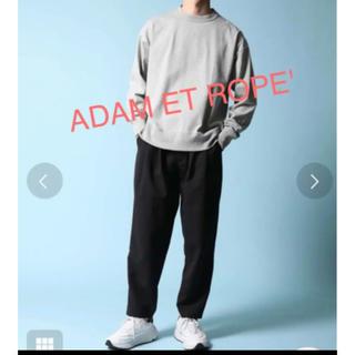 アダムエロぺ(Adam et Rope')の⭐️タグ付新品 定番だからこだわりたい❗️ビッグシルエット スウェットロンT(Tシャツ/カットソー(七分/長袖))