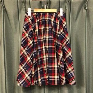 シマムラ(しまむら)のしまむら ギンガムチェック プリーツスカート(ひざ丈スカート)