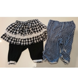 ニシマツヤ(西松屋)のまとめ売り 子供服 90 女の子 スカッツ レギンス パンツ キッズ (パンツ/スパッツ)