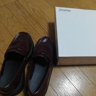 ジュエティ(jouetie)のjouetie ジュエティプラットフォームローファー ボルドー(ローファー/革靴)