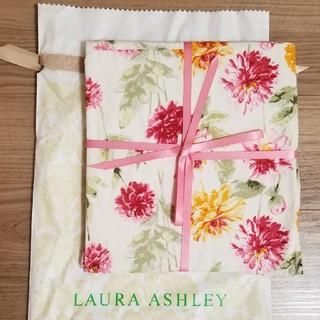 ローラアシュレイ(LAURA ASHLEY)のローラアシュレイ新品エプロン 綿100%(収納/キッチン雑貨)