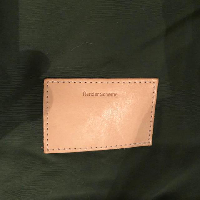 Hender Scheme(エンダースキーマ)のHender Scheme/エンダースキーマ/マルチヘルメットバック/カーキ メンズのバッグ(トートバッグ)の商品写真