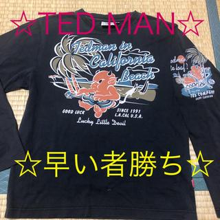テッドマン(TEDMAN)のTED MAN ロンT 即購入可☆(Tシャツ/カットソー(七分/長袖))
