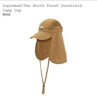 Supreme - Supreme The North Face Camp Cap Gold