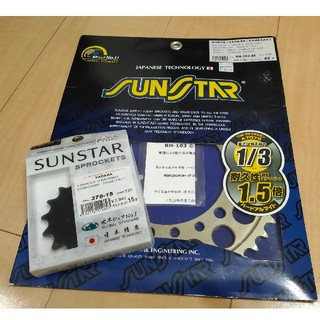 SUNSTAR - XJR400R サンスター スプロケットセット