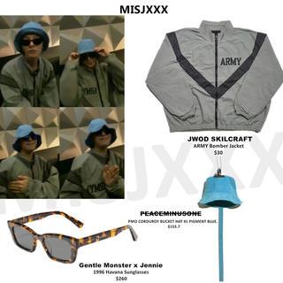 ピースマイナスワン(PEACEMINUSONE)のジヨン着用 SKILCRAFT ARMY Bomber Jacket(ミリタリージャケット)