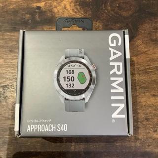 ガーミン(GARMIN)の【ヒロロ様専用】GARMIN S40 Gray(ゴルフ)