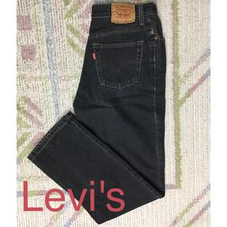 Levi's - Levi's☆ブラックジーンズ