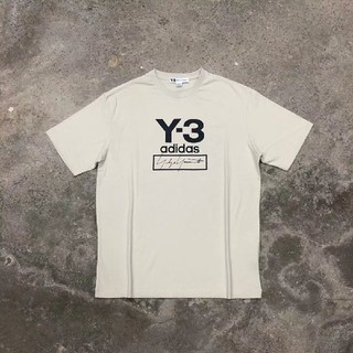 Y-3 - Y-3 20ss stacked logo Tee Tシャツ