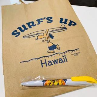 ピーナッツ(PEANUTS)の ハワイ限定 スヌーピー 新品 ボールペン(ペン/マーカー)