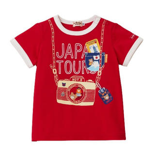 ホットビスケッツ(HOT BISCUITS)の【新品】ミキハウス ホットビスケッツ 半袖Tシャツ(Tシャツ/カットソー)