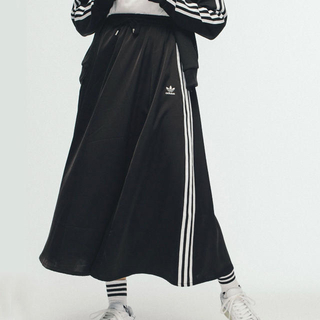 アディダス(adidas)のadidas ロングスカート サテン adidas originals(ロングスカート)