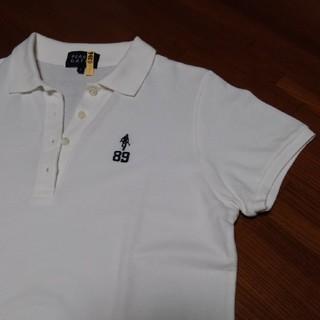 パーリーゲイツ(PEARLY GATES)のパーリィゲイツ白ポロシャツ(訳あり)(Tシャツ(半袖/袖なし))