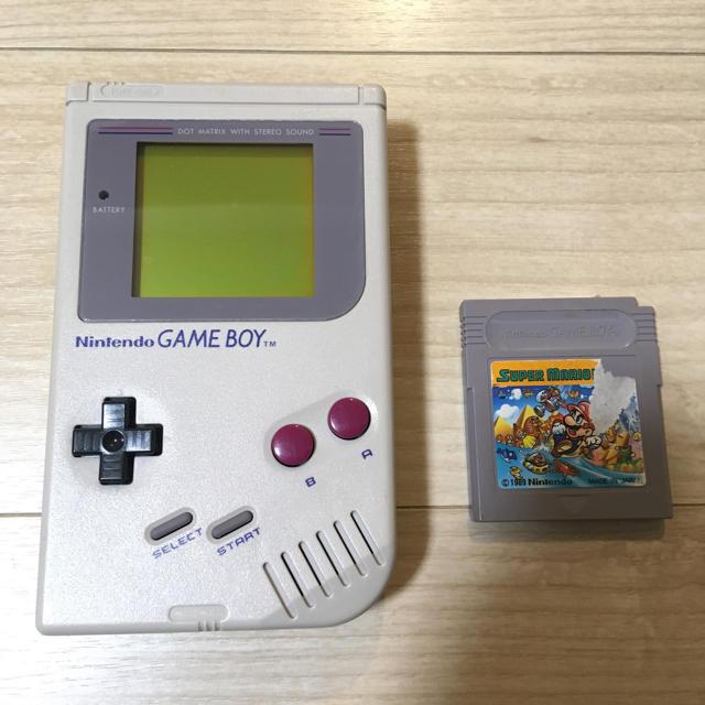 ゲームボーイ(ゲームボーイ)のGB ゲームボーイ本体① エンタメ/ホビーのゲームソフト/ゲーム機本体(携帯用ゲーム機本体)の商品写真