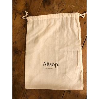 イソップ(Aesop)のAesop 巾着 大サイズ 未使用品(ショップ袋)
