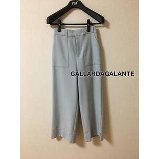 ガリャルダガランテ(GALLARDA GALANTE)のGALLARDAGALANTE   ワイドパンツ   セレモニー オフィス(クロップドパンツ)