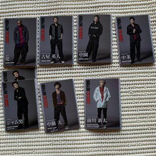 HiGH&LOW THE WORST カード アクリルスタンド(男性タレント)