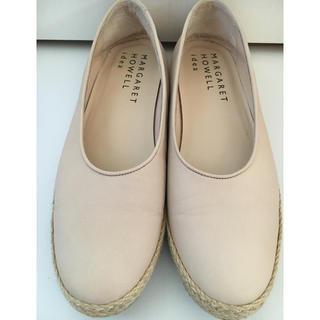 MARGARET HOWELL - マーガレットハウエル フラットシューズ 靴 レディース 24cm オフホワイト