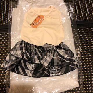 犬服 ワンピース Lサイズ(ペット服/アクセサリー)