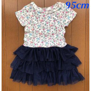 babyGAP - GAPキッズ花柄チュールワンピース95cm