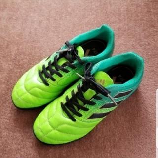 アディダス(adidas)のmアディダス トレーニングシューズ グリーン 21.5cm(スニーカー)