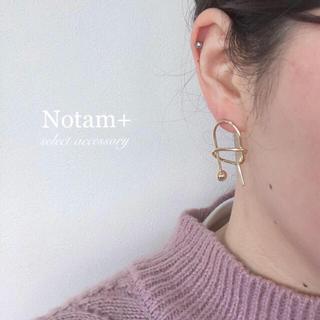 トゥデイフル(TODAYFUL)のN-010 geometric pierce gold(ピアス)