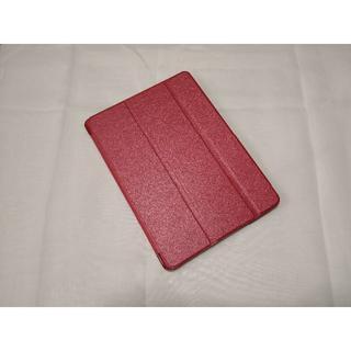 薄型軽量 iPad 6世代/5世代/Air/Air2 用 レッド スマートケース(iPadケース)