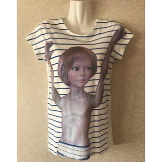 アチャチュムムチャチャ(AHCAHCUM.muchacha)の☆あちゃちゅむ ムチャチャ☆  マネキン ボーダー Tシャツ(Tシャツ(半袖/袖なし))