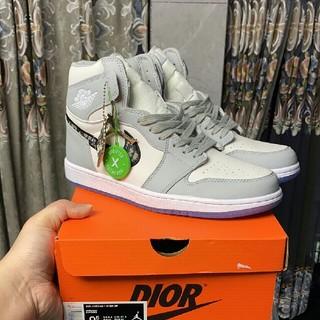 ナイキ(NIKE)のDior x Air Jordan 1 High OG スニーカー 27.5cm(スニーカー)